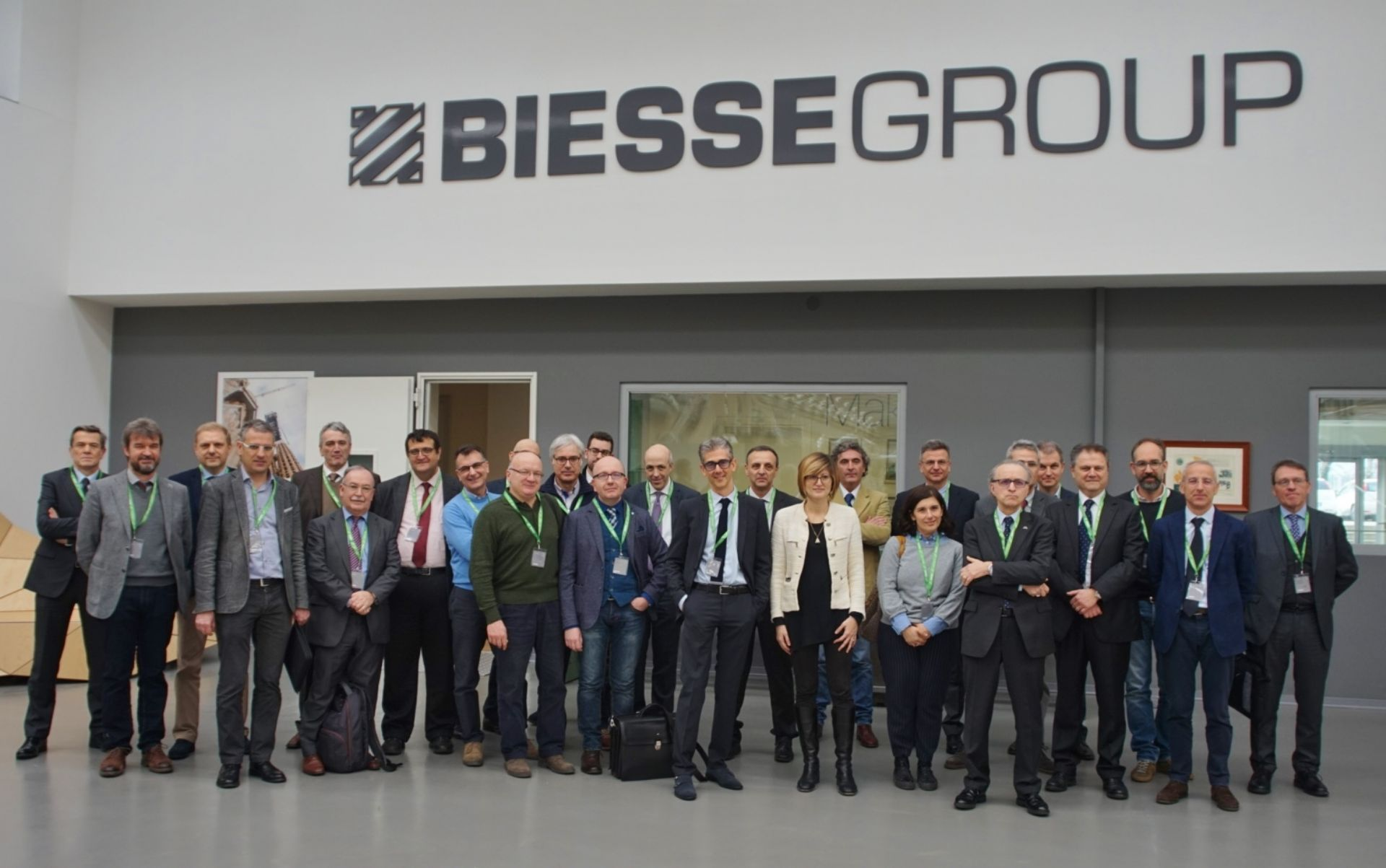 Biesse ospita il Comitato Scientifico di SPS Italia